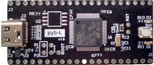 Ultra-low-power battery-powered STM32L4 development board micropython / python / C programming