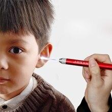 Ear-Cleaner Ear-Syringe Baby-Care for Kids Adult Earpick-Handle Clean-Flashlight Earwax-Spoon