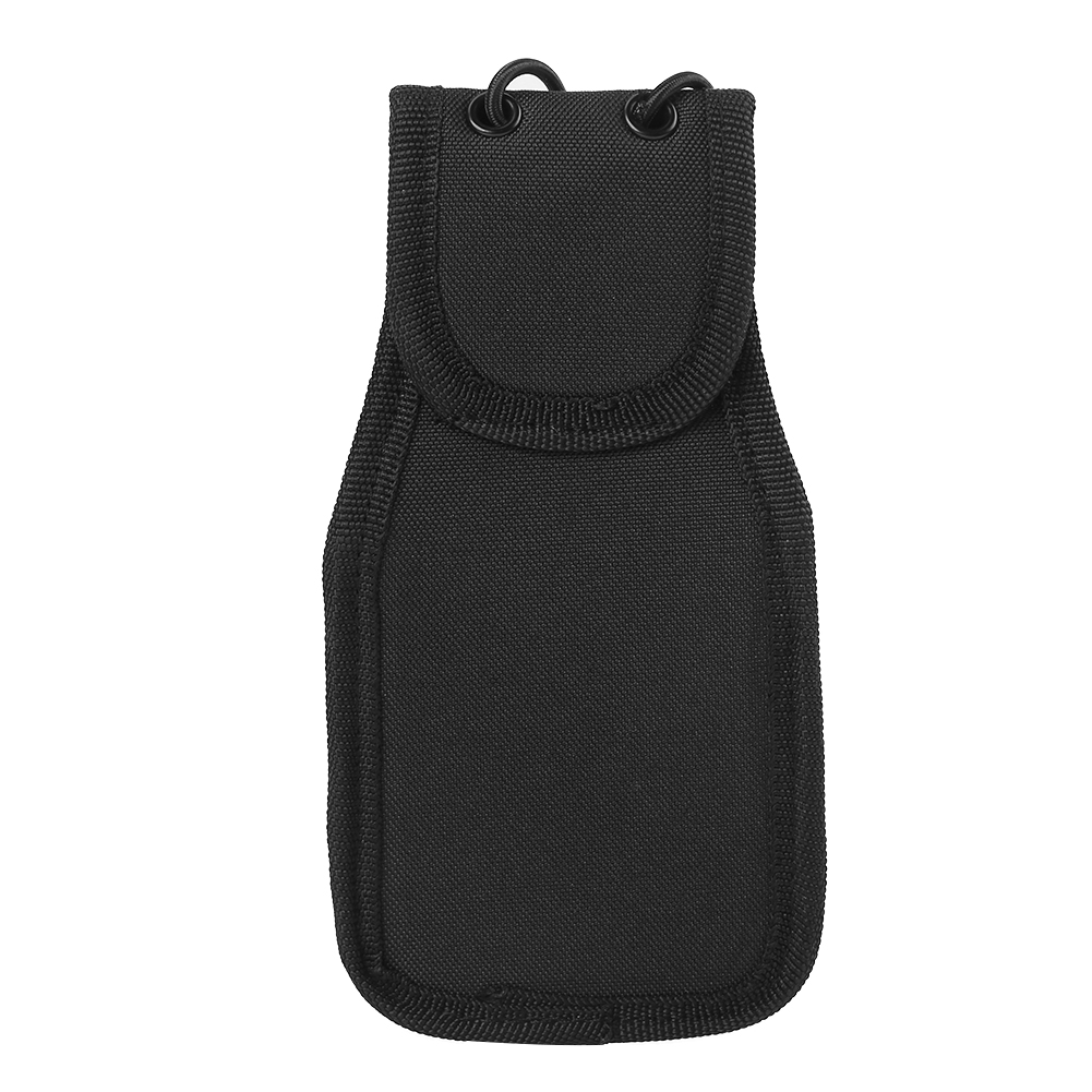 Universal Nylon Radio Case Waist Pack Bag Holder Holster Suitable For Police Firefighters Security Guards And Other Needs