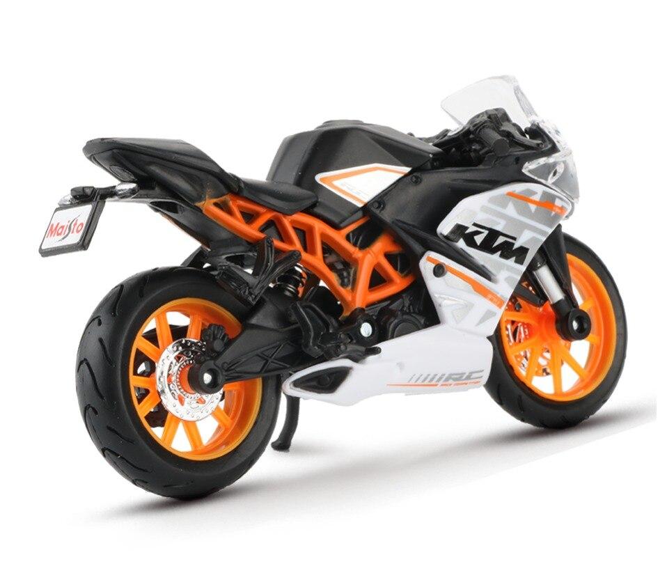 Toy KTM RC 390 Motorbike 11x3x6 cm 43