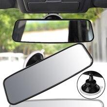 Universal Auto Lkw Innen Rückspiegel Breite, Flache Innen Rückansicht Rückspiegel mit Saugnapf