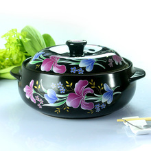 Korean Lily soup pot rice vermicelli casserole casserole braised chicken stew ceramic pot medicine pot