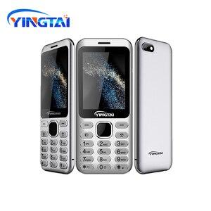 Image 4 - Nouveau modèle original YINGTAI S1 Ultra mince métal placage double SIM écran incurvé caractéristique téléphone portable Bluetooth téléphone portable daffaires