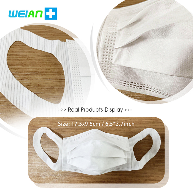 Brand New Disposable Mask Anti Bacterial Dust Pollen Flu 일회용마스크 Mask Waterproof Breathable Dustproof Influenza Safety Face Masks 5