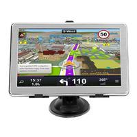 Car Truck GPS Navigation System 7 Inch Touch Screen Ultra Thin FM Transmitter North America / Europe/Australia 8GB GPS Navigator
