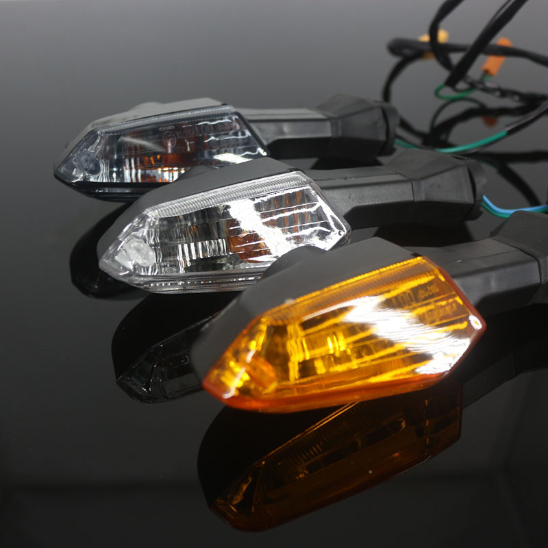 Image 2 - For KAWASAKI NINJA 650 NINJA650 ER6N ER 6F ER 6N 6F Z 800 1000 Motorcycle Front / Rear Turn Signal Indicator Light Blinker Lamp    -