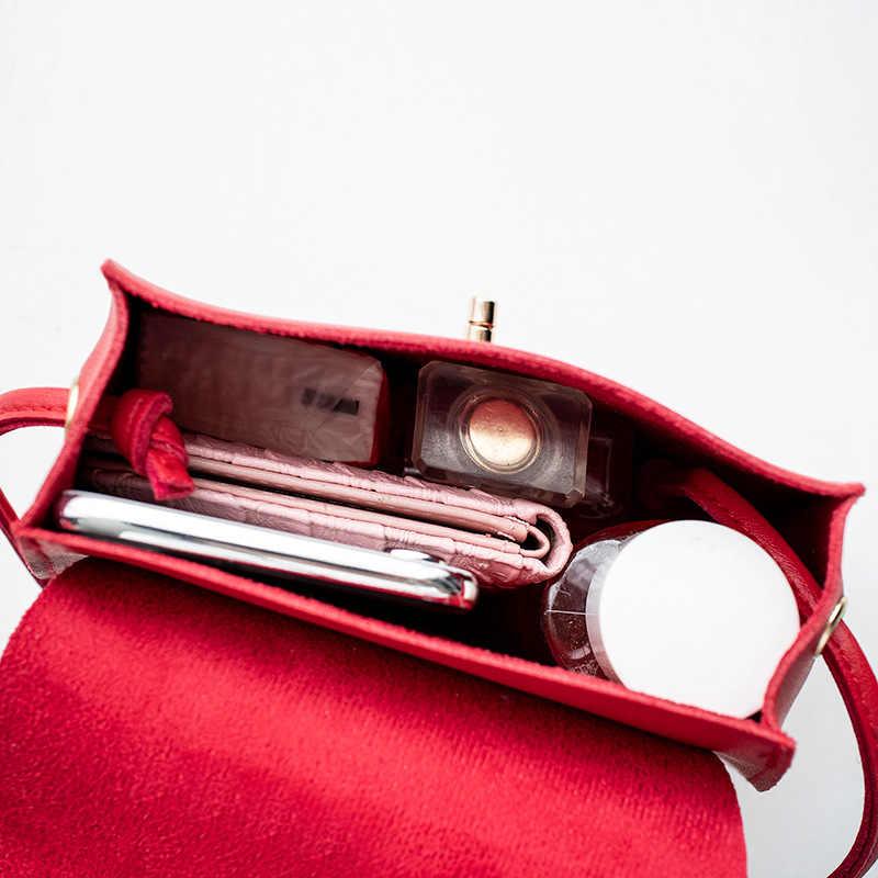 2020 Wanita Tas Single Bahu Rumbai Tas Tangan Tas Ponsel Tas Belanja Hitam Merah Pink