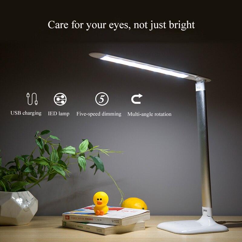 Купить приглушаемая энергосберегающая настольная лампа для обучения