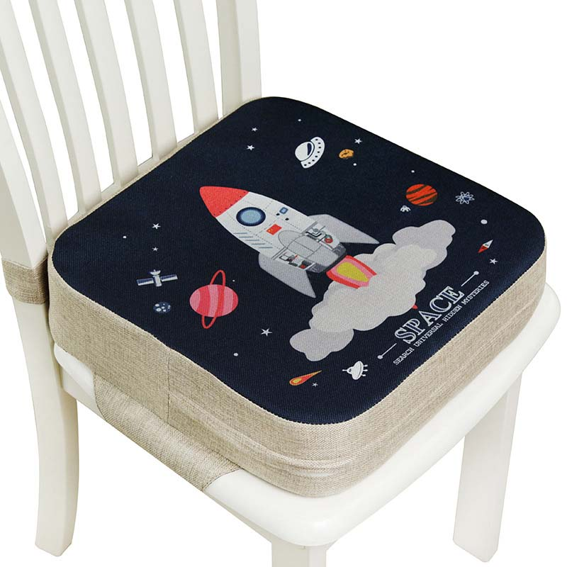 Baby Dining Cushion Children Increased Chair Pad Adjustable Removable Highchair Chair Booster Cushion Seat Chair for Baby Care(China)