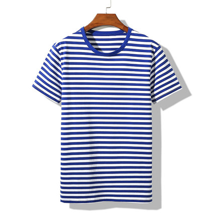New Summer Short-sleeved T-shirt Men's Trendy Men's Clothing On The Wild  2734