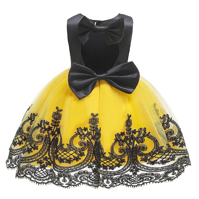 Vestido de natal crianças vestidos para meninas vestido de festa de noite elegante crianças princesa flor meninas vestido de casamento infantil
