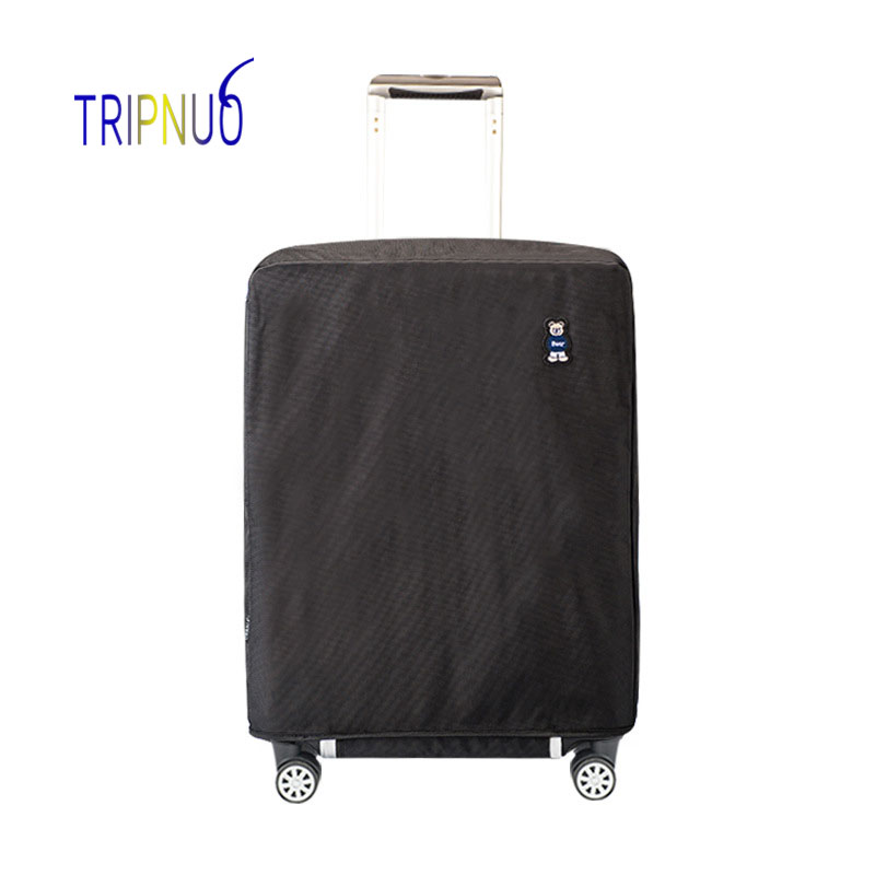 TRIPNUO Waterproof Oxford Luggage Cover For 20-30inch Suitcase Protective Cover DustProof Luggage Cover Case Travel Accessorie