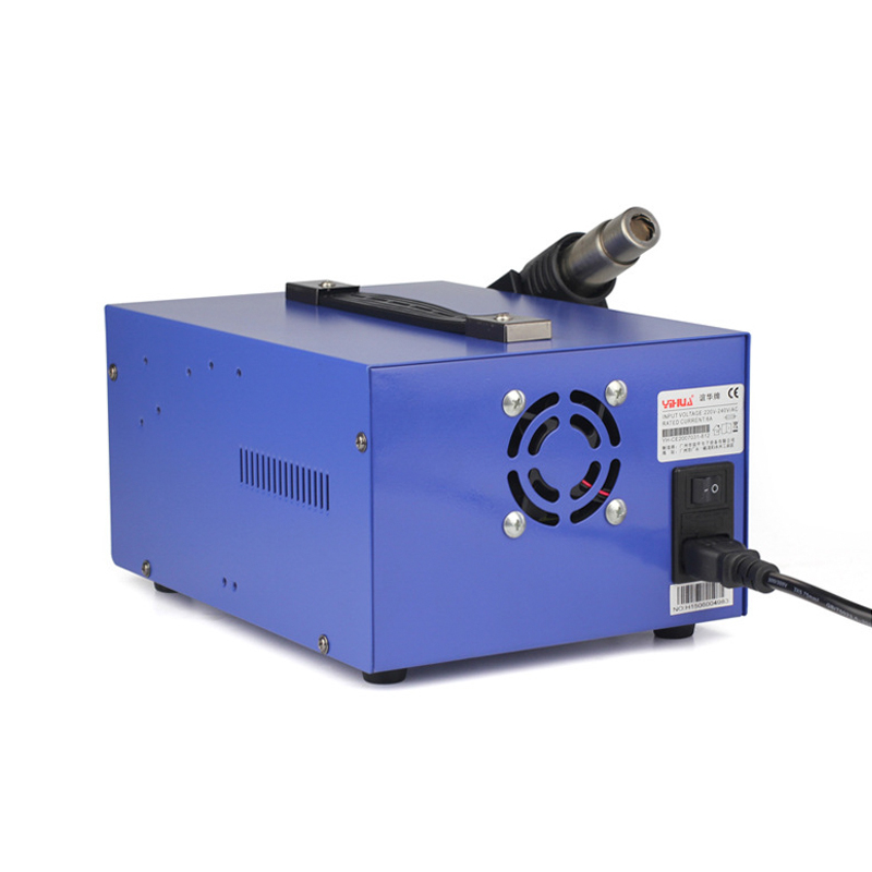BGA 4 DC Iron USB Gun Air Power 2A Output Welding Rework Station YIHUA 15V In Soldering Stations Soldering Supply 1 Hot New 853D