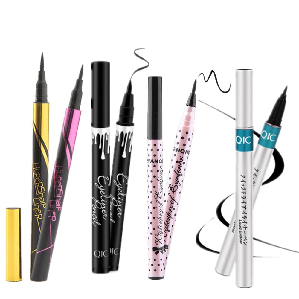 5 style of black liquid eyeliner shade brown make up eye liner color eyeliner waterproof eyeliner eyes makeup stencil for arrows