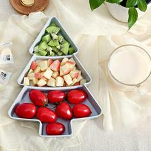 Фрукты, рыба, формы, блюда в форме рождественской ёлки, орехи, фрукты блюдо для закусок, посуда, творческая Фруктовая тарелка, ящики для хранения