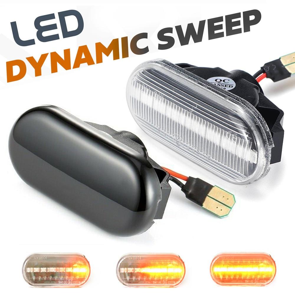 LED Car Side Marker Light Repeater Turn Signal Light For Nissan Tiida C11 Note E11 NE11 Micra K12 NP300 Navara D40 Qashqai J10