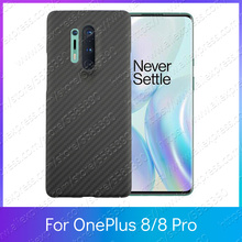 Fitted Bumper Full Kevlar OnePlus 8 Pro Case OnePlus 8 Carbo