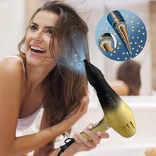 Professional Salon Hair Dryer for hairdresser Negative Ion Hair Dryers Electric Hair Blow Dryer Strong Wind 220V 2300W Milin professional hair dryers light weighte blow dryer salon dryer hot
