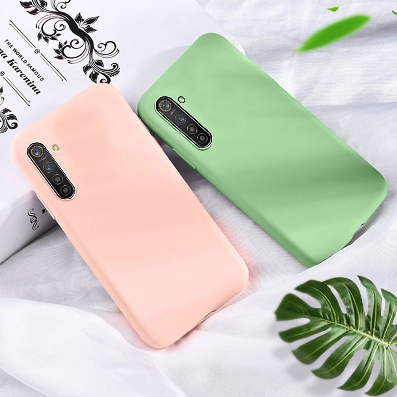 <font><b>Case</b></font> Realme XT <font><b>Case</b></font> <font><b>Liquid</b></font> Silicone Soft Baby-Skin Feeling For <font><b>OPPO</b></font> Realme XT <font><b>Case</b></font> Phone <font><b>Cover</b></font> Realme X2 / Realme K5 Funda 6.4