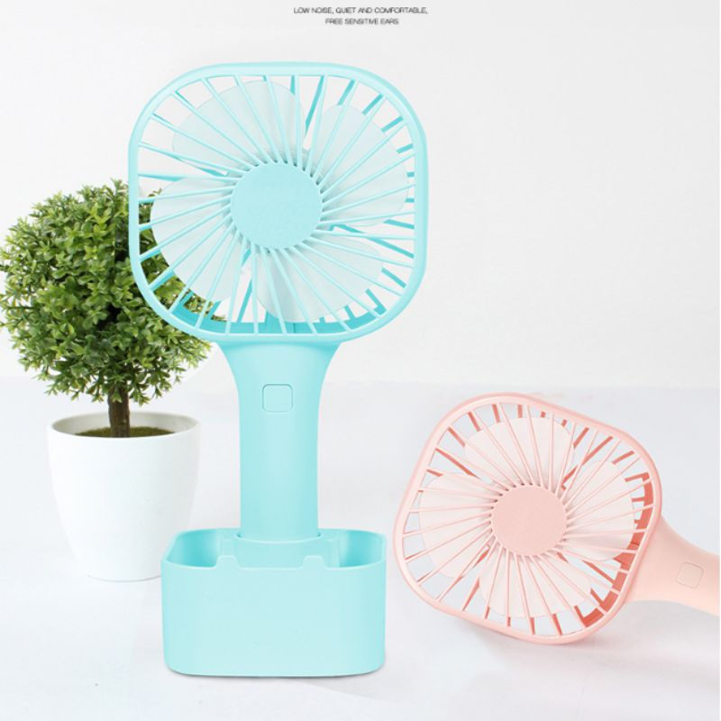 Partable Pocket Fan Usb Charging Mini Handheld Student Outdoor With Desktop New