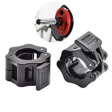 Weightlifting Barbell-Clamps Fitness-Equipment Lock Collars Gym 1-Pair Dambil Standard