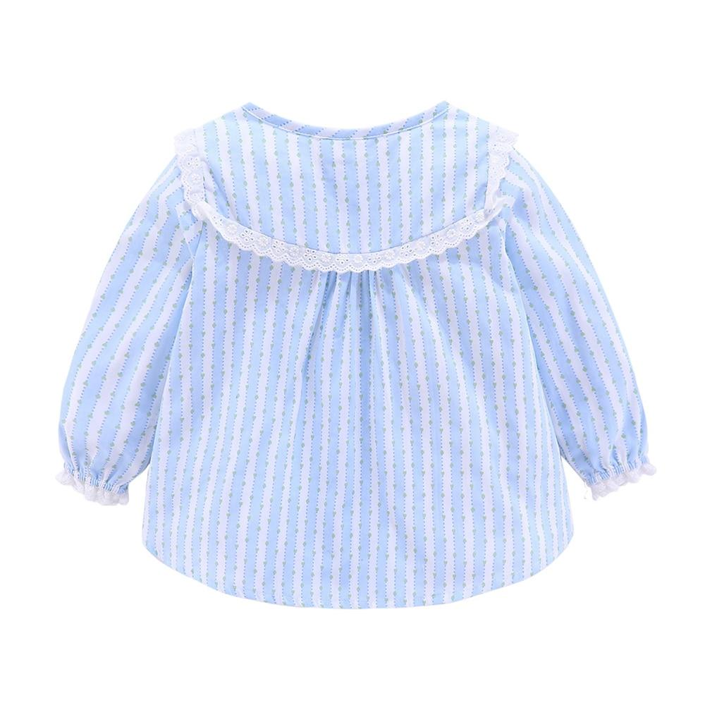 Mudkingdom Boutique Girls Pajama Sets Spring Autumn Cute Lace Striped Heart Toddler Pajamas Kids Sleepwear Sleeping Clothes 6