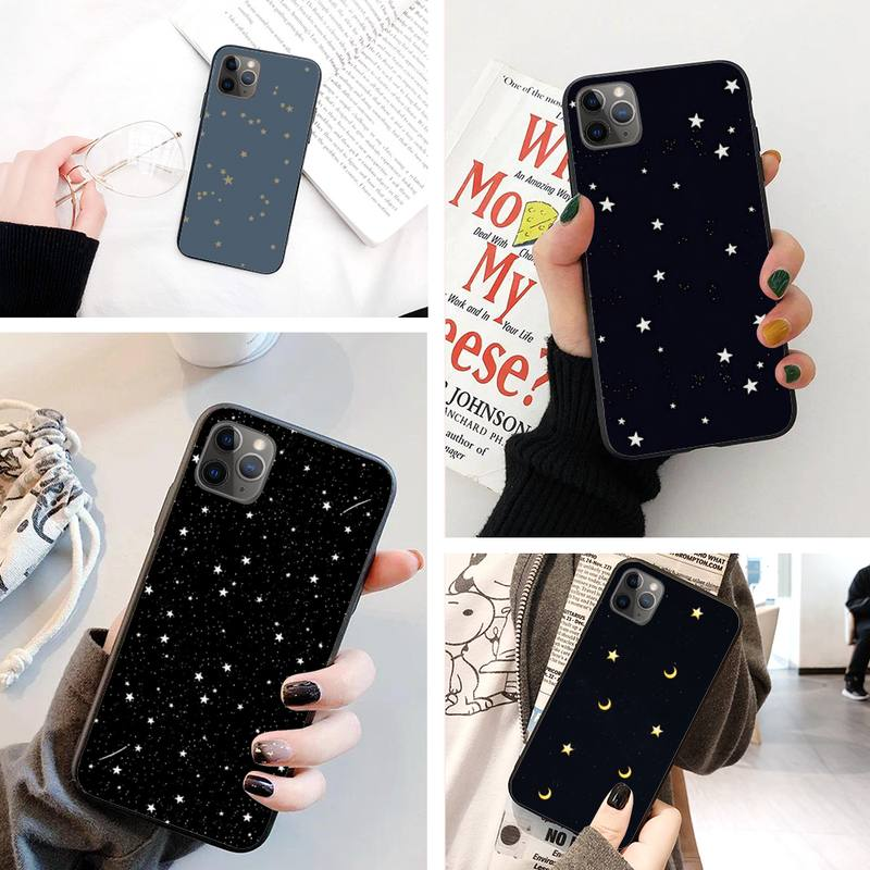 Starlight <font><b>filled</b></font> the sky <font><b>Coque</b></font> Shell Phone Case For IphoneX XS 11 11Pro 5 5s SE 6 <font><b>6s</b></font> plus 7 8 SE 2020 Case image