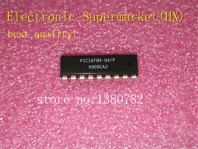 Free Shipping 10pcs/lots PIC16F84 04/P  PIC16F84 DIP 18  New original  IC In stock!
