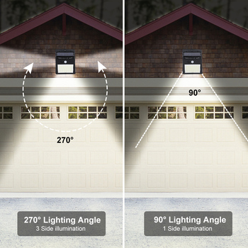 1/2/4pcs 140 LED Outdoor Solar Light PIR Motion Sensor Wall Light Waterproof Solar Lamp Solar Powered Sunlight Garden Decoration 6