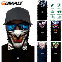 3D Skull Seamless Magic Cycling Mask Neck Gaiter Warmer Face Shield Sport Bike Ski Fishing Bandana Balaclava Scarf Men Women(China)