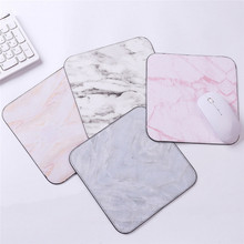 20*20 Marble Mouse Pad Square Rubber Non slip  Thickening Game Computer Notebook Mat Cushion Gamer Mousepad Mat Desk