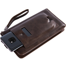 New Men Leather Wallet High Quality FD01