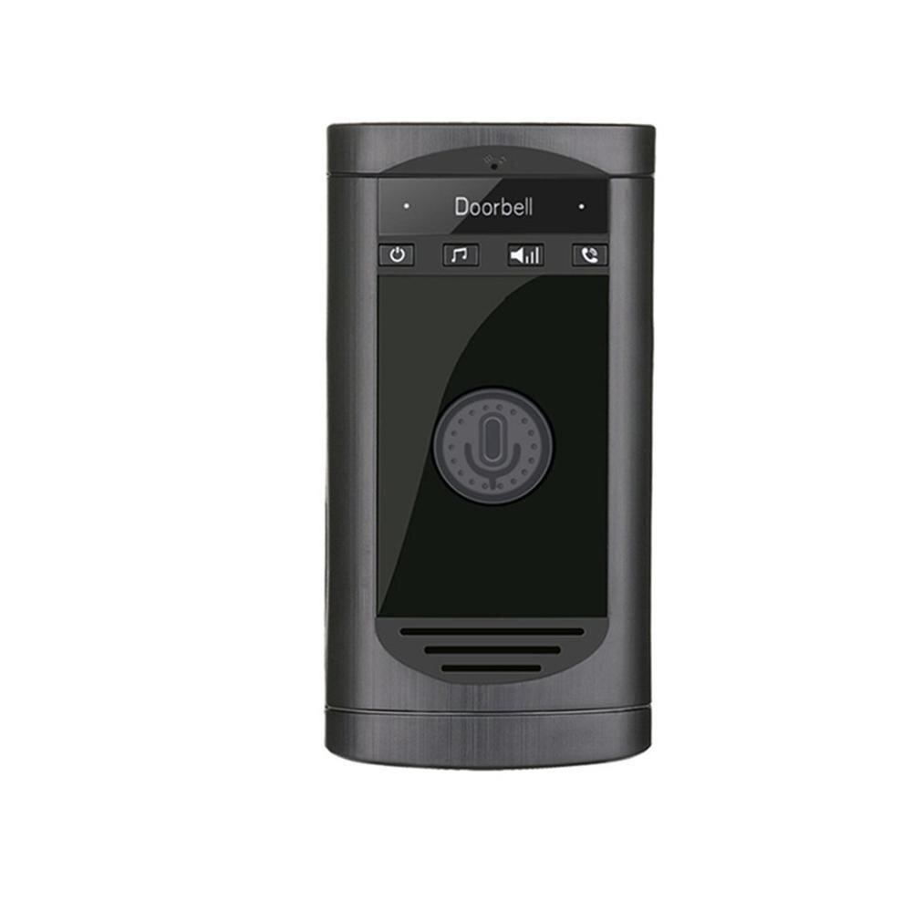 Sliver Wireless Intercom Doorbell Home Voice Intercom Doorbell Support Two-Way Intercom Professional Penetration