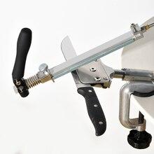 Система Точилки для ножей с поворотом на 360 градусов постоянный угол шлифовальный инструмент из алюминиевого сплава система Точилки для ножей машина