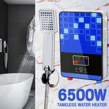 6500W 220V Electric Hot Water Heater Tankless Instant Boiler