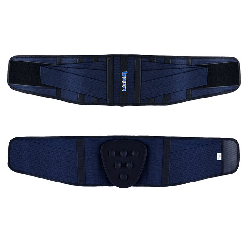 Han Si Kyle Men And Women Waist Supporter Warm Back Pain Lumbar Vertebra Four Seasons Thin Fitness Sports Waist Tied Breathable