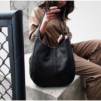 Vintage Leather Shoulder Bags  2