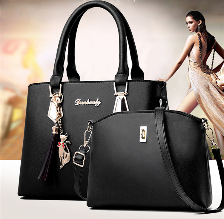 H8acd58ce080f4eaaa056a7dac6dafb3c8 - Fashion Woman Bag Female Hand Tote Bag Messenger Shoulder Bag  Lady HandBag Set Luxury Hand bag composite bag  bolsos
