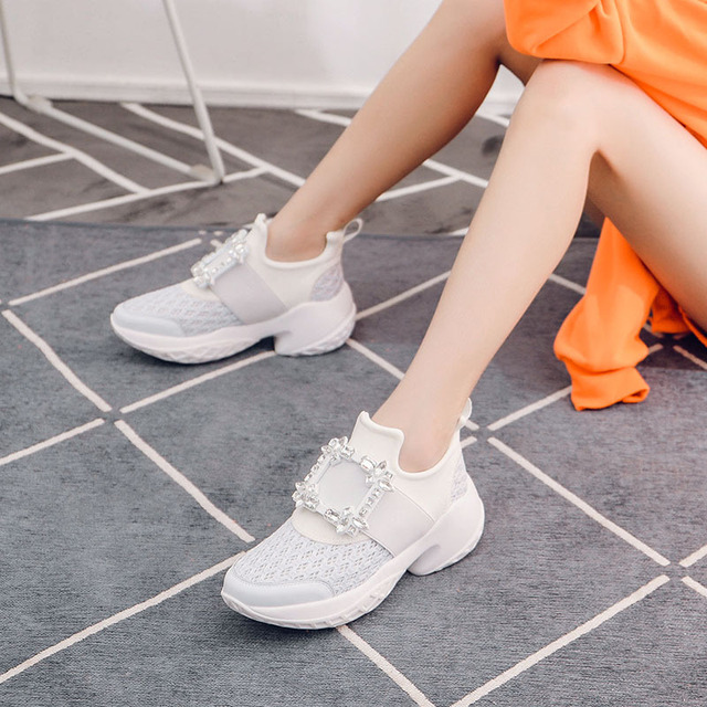 Women's Sneakers Vulcanized Casual Shoes  4