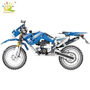 Image 5 - 799 шт., Детский конструктор «мотоцикл»