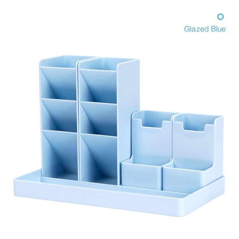 Large Capacity Cute Desk Pen Holder Pencil Storage Box Desktop Organizer Stand Case School Office Stationery 4