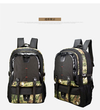 Cross-Border Large Capacity Shoulder Backpack Mens WOMENS Student Walking Travel Mountaineering Casual Anti-Spillage