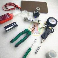 Para cummins m11 n14 eui diesel injector de trilho comum válvula eletromagnética desmontar medição pressão injeção teste conjunto ferramenta