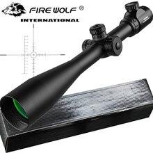 10-40x50 daleki zasięg Luneta boczne koło paralaksy celownik optyczny Luneta celownicza Luneta snajperska Luneta Para Rifle