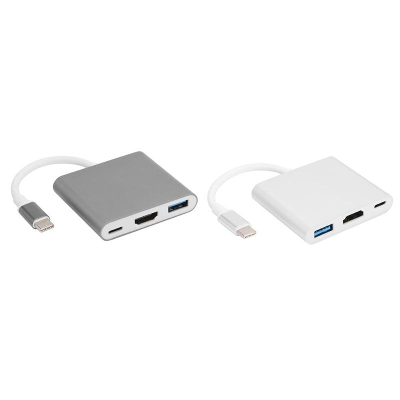 USB Hub Converter Support High Speed Data Transmission USB C Type-C To USB 3.0/HDMI/Type-C PD Charger AV Adapter