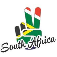 Флаг Южной Африки светоотражающий палец победы автомобильные