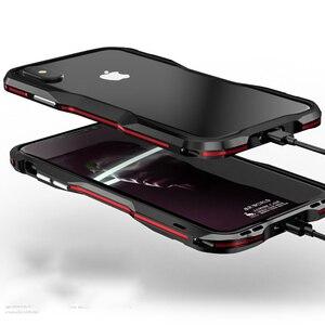 Image 2 - Metal tampon IPhone11 Pro Max 12Pro durumda alüminyum çerçeve koruyucu IPhone XS için Max 7 8 artı kapak tampon iphone XR ev