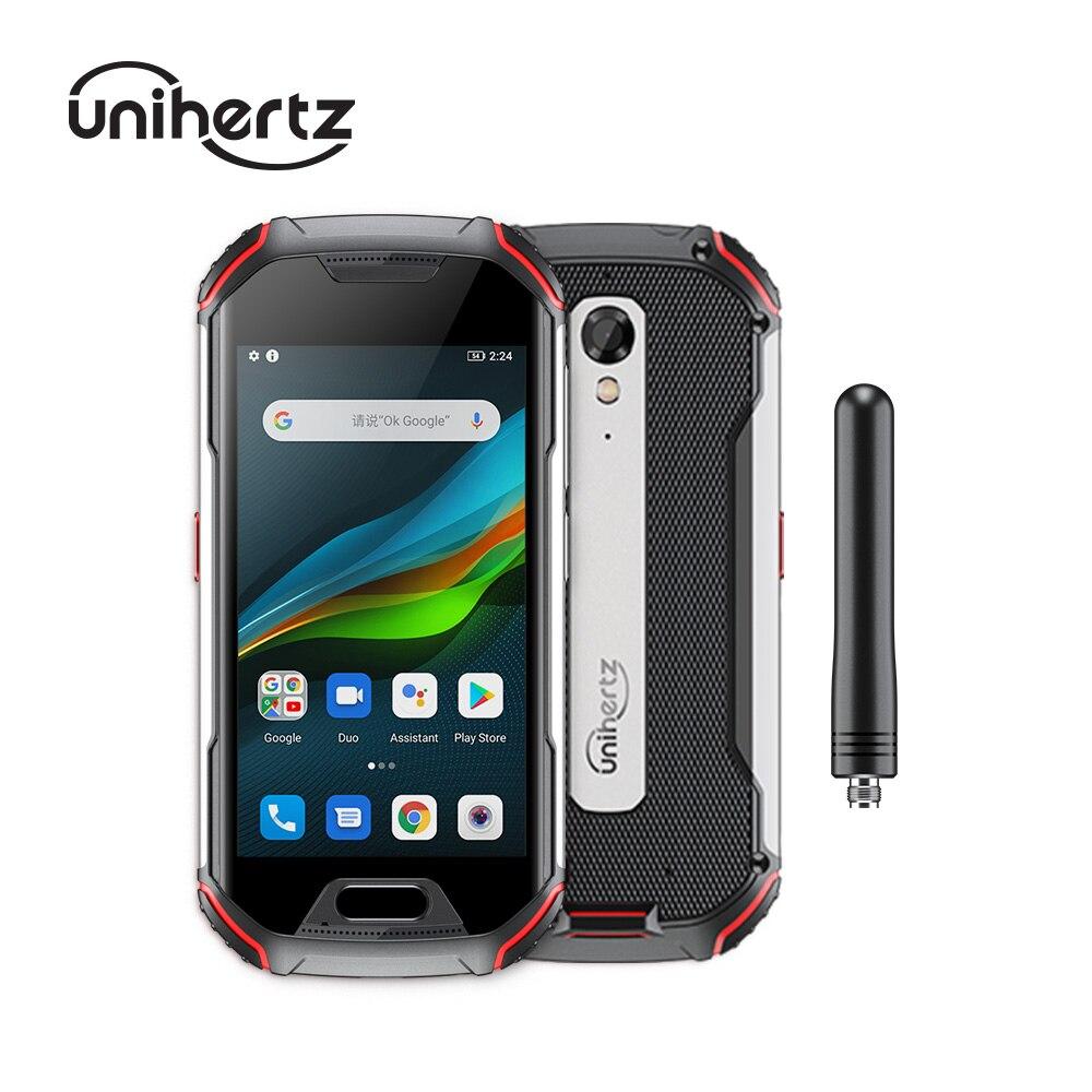 Прочный смартфон Unihertz Atom XL, самый маленький DMR Walkie-Talkie, Android 10, разблокированный, 6 ГБ + 128 Гб, камера 48 МП, 4300 мАч