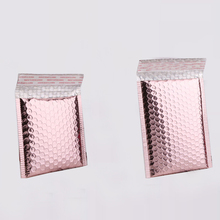 Rose Gold Bubble Envelope Waterproof Foil Bubble Mailer for Gift Packaging