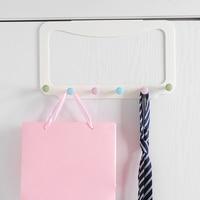 Klebstoff Zurück Tür Kleiderbügel Hängen Haken Langlebig für Schlafzimmer Handtuch Kleidung BJStore-in Haken & Leisten aus Heim und Garten bei